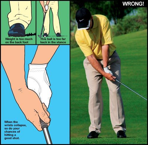 chipping Kỹ thuật và phương pháp tập chipping khi đánh golf