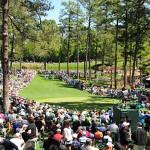 Rất đông khán giả đến xem ngày đấu Par 3 nổi tiếng ở Augusta National