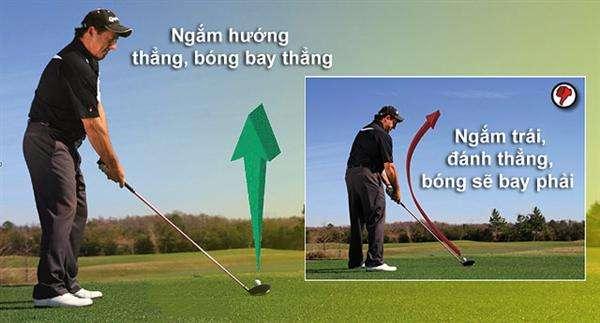 khong slice Tạm biệt những cú slice khi đánh golf (phần 1)