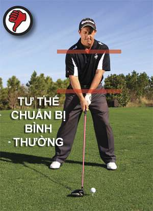 nghieng vai sai Tạm biệt những cú slice khi đánh golf (phần 3)