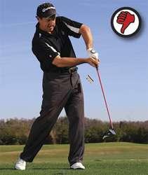chicken wing Tạm biệt những cú slice  khi đánh golf (phần 4)