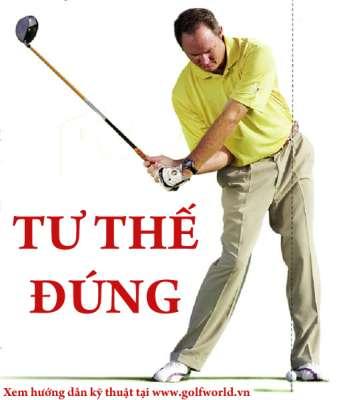 tu the dung Hướng dẫn đánh driver khi đánh golf (phần 3)