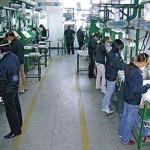 Bên trong nhà máy sản xuất đầu gậy của Fu Sheng. Hình chụp: J.D. Cuban