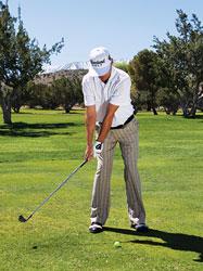 gay sat 2 Hướng dẫn đánh gậy sắt khi đánh golf (phần 3)