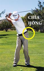 gay sat cham bong 3 Hướng dẫn đánh gậy sắt khi đánh golf (phần 3)