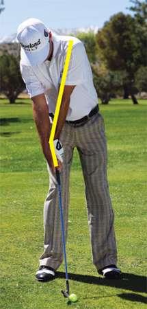 chicken wing 1 Hướng dẫn đánh gậy sắt khi đánh golf (phần 4)