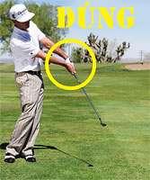 gay sat phan 5 3 Hướng dẫn đánh gậy sắt  khi đánh golf(phần 5)