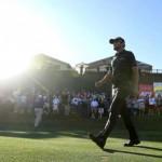 Kyle Stanley trên con đường đến chiến thắng PGA Tour đầu tay tại Phoenix Open 2012. Hình chụp: Ross D. Franklin/AP