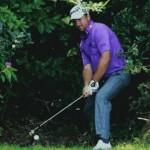 Cú cứu bóng từ bụi cây của McDowell. Hình chụp: BBC