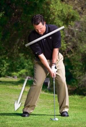 tu the danh bong bong Giải quyết những tình huống khó khi đánh golf (phần 1)