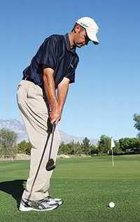 chipping 1 Để thực hiện chip shot thành công khi đánh golf