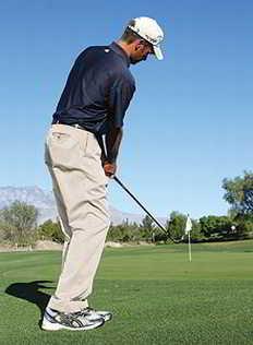 chipping 3 Để thực hiện chip shot thành công khi đánh golf