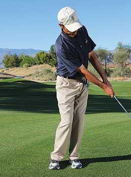 chipping 7 Để thực hiện chip shot thành công khi đánh golf