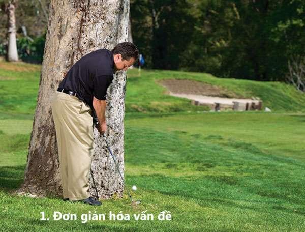 tranh chuong ngai vat 1 Giải quyết những tình huống khó khi đánh golf (phần 2)