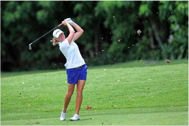 Lewis là tay golf nữ của năm 2012. Hình chụp: Erlangga Tribuana