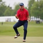 Billy Horschel có danh hiệu đầu tiên sau 57 tham gia thi đấu ở PGA Tour. Hình chụp: Chris Graythen/Getty Images