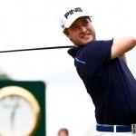 Tay golf người Thụy Điển, David Lingmerth phát bóng ở đường 10, vòng 3, giải Players Championship. Hình chụp: Debby Wong, USA TODAY Sports