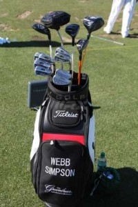 Webb Simpson bag