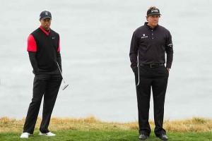Phil - Tiger, cặp đôi được người hâm mộ kỳ vọng nhất tuyển Hoa Kỳ. Hình chụp: Allan Henry/USA TODAY Sports