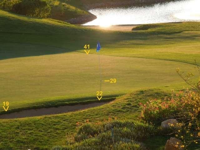 Người chơi được hỗ trợ rất nhiều nếu có kính Google/ Hình chụp: golfWRX